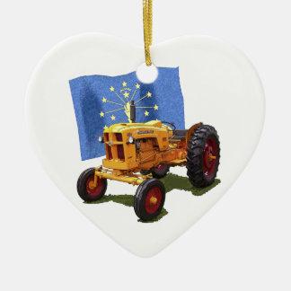 Indiana 445 ornamento de cerâmica coração