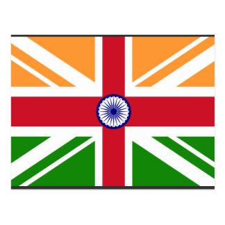 Indiano Anglo Indentity, India Cartão Postal
