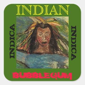 INDIANO BUBBLEGUM INDICA ADESIVO QUADRADO