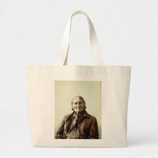 Indiano do nativo americano de Geronimo (Guiyatle) Bolsa De Lona