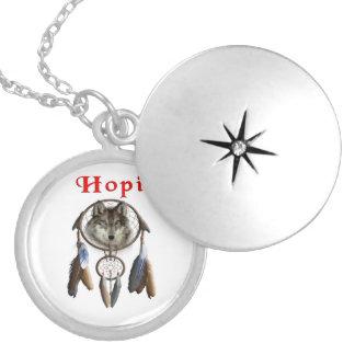 Indianos do Hopi Colar Medalhão