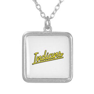 Indianos no amarelo bijuteria