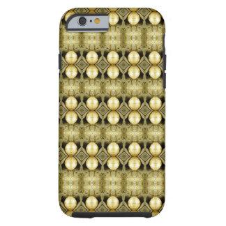 Indicação aciganada do Bohemian da moeda do ouro Capa Tough Para iPhone 6