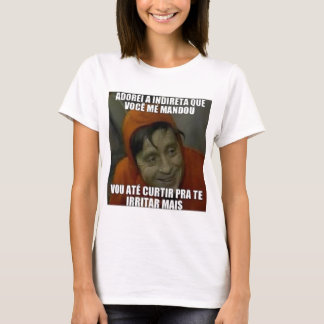 indireta camiseta