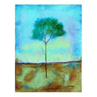 Individual - cartão - da pintura original cartão postal