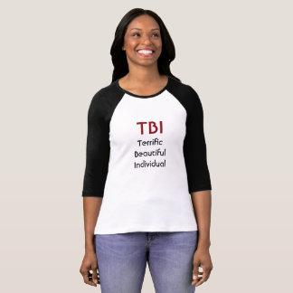 Indivíduo bonito óptimo de TBI Camiseta