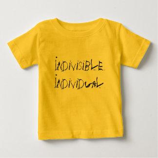 Indivíduo indivisível camiseta para bebê