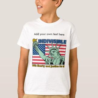 Indivisível: Com liberdade e justiça para tudo Camiseta