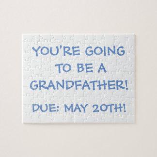 """""""Indo ser um avô!"""" Quebra-cabeça"""