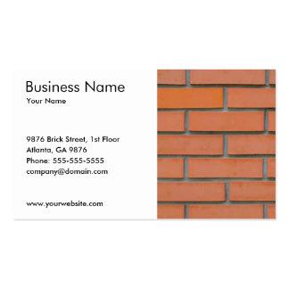 Indústria da construção civil simples da cartão de visita