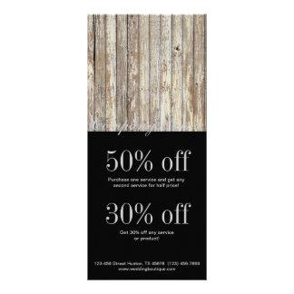 indústria da construção de madeira da grão do país panfleto informativo personalizado