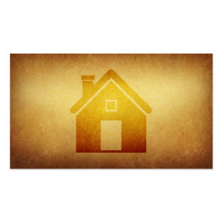 Indústria da construção forrada dos bens cartão de visita