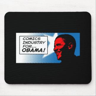 Indústria da história em quadrinhos para o tapete  mousepad