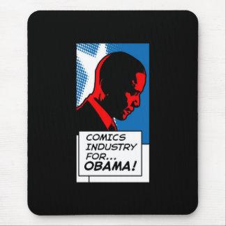 Indústria da história em quadrinhos para o vertica mouse pad