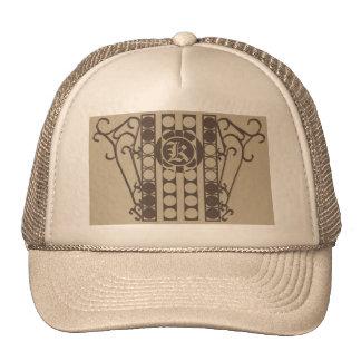 INDÚSTRIA SIDERÚRGICA SCROLLWORK 2 do chapéu do Boné