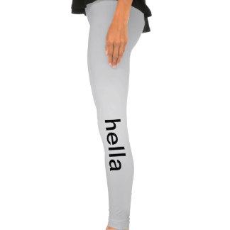 inferno a calças legging