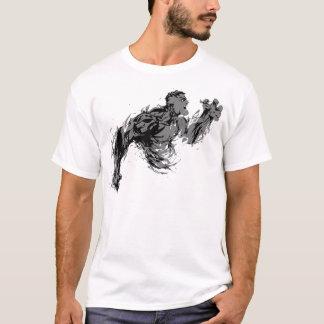 Inferno cinzento camiseta