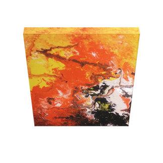 Inferno de Dantes Impressão Em Canvas