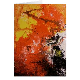 Inferno de Dantes - cartão