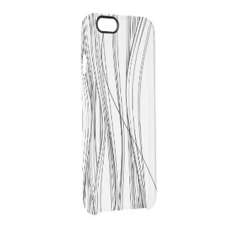 inferno do cabelo capa para iPhone 6/6S clear