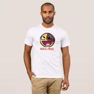 INFERNO NOVO--LOGOTIPO BRANCO dos homens do roupa Camiseta