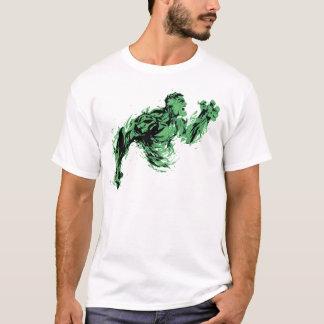 Inferno verde camiseta