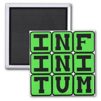 Infinitum infinidade frase Latin
