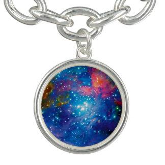 Infravermelho da nebulosa de Orion Charm Bracelet