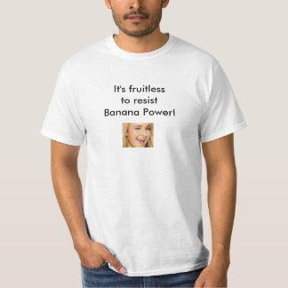 infrutífero camiseta