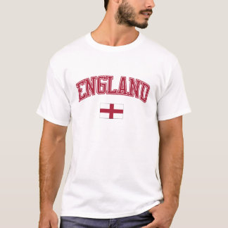 Inglaterra + Bandeira Tshirt