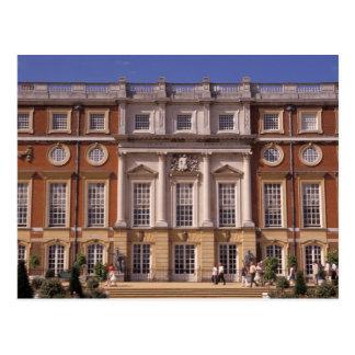 Inglaterra, Surrey, palácio do Hampton Court. 2 Cartão Postal