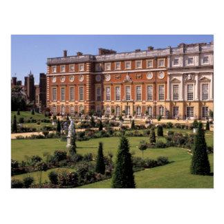 Inglaterra, Surrey, palácio do Hampton Court Cartão Postal