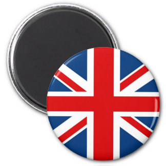 Inglaterra Union Jack/imã de geladeira britânica d Ímã Redondo 5.08cm