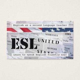 Inglês como um segundo cartão de visita da língua