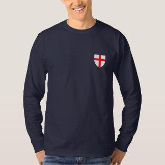 Inglês patriótico tshirts