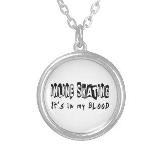 Inline patinar ele está em meu sangue colares personalizados