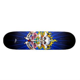 Inoperante ou vivo shape de skate 20,6cm