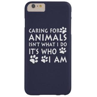 Inquietação com animais capa barely there para iPhone 6 plus