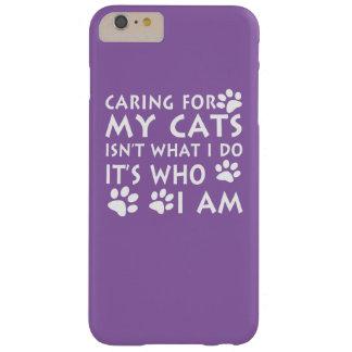 Inquietação com meus gatos capas iPhone 6 plus barely there