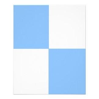 Insecto AJUSTÁVEL dos azuis bebés & do branco Panfletos Coloridos