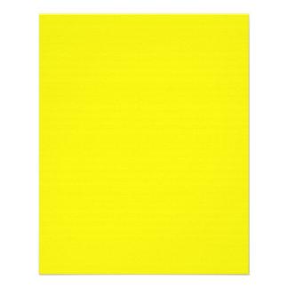 Insecto amarelo de néon brilhante panfleto