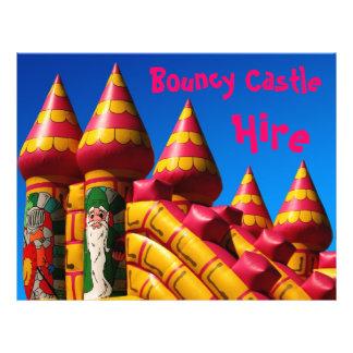 Insecto Bouncy do castelo Panfleto Personalizados