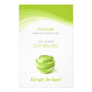 Insecto da dietista terapia da nutrição panfletos personalizados