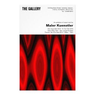 Insecto da exposição de arte panfleto coloridos