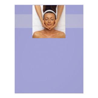 Insecto da terapia da massagem modelo de panfleto