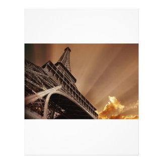 Insecto da torre Eiffel Panfleto Personalizado
