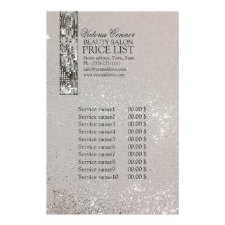 Insecto de incandescência da tabela de preços do flyer 13.97 x 21.59cm