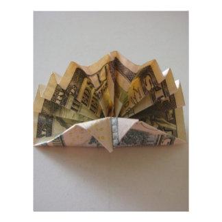 Insecto de Origami Turquia do dólar Panfleto