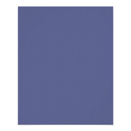 Insecto do azul do país panfleto personalizado