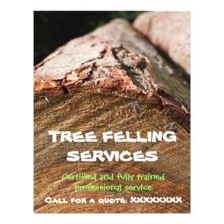 Insecto do Felling/lenhador da árvore Panfleto Coloridos